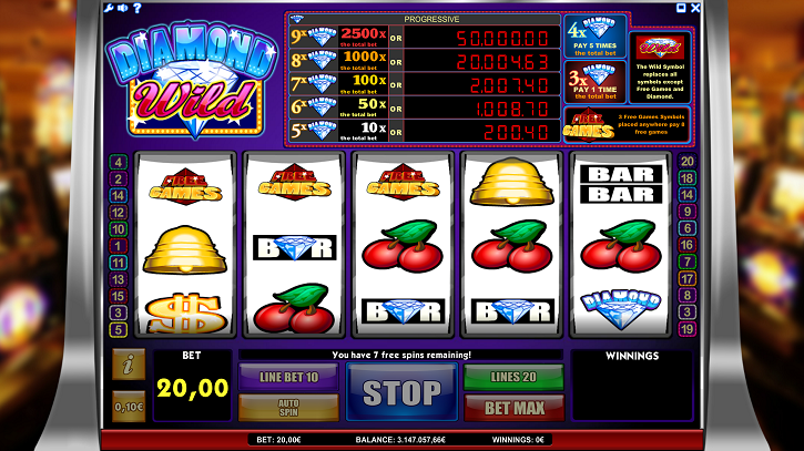 diamond wild slot review
