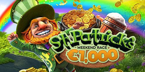 bitstarz casino st patrick weekend race