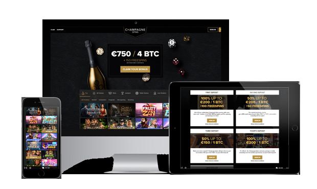 обзор Champagne Spins Casino