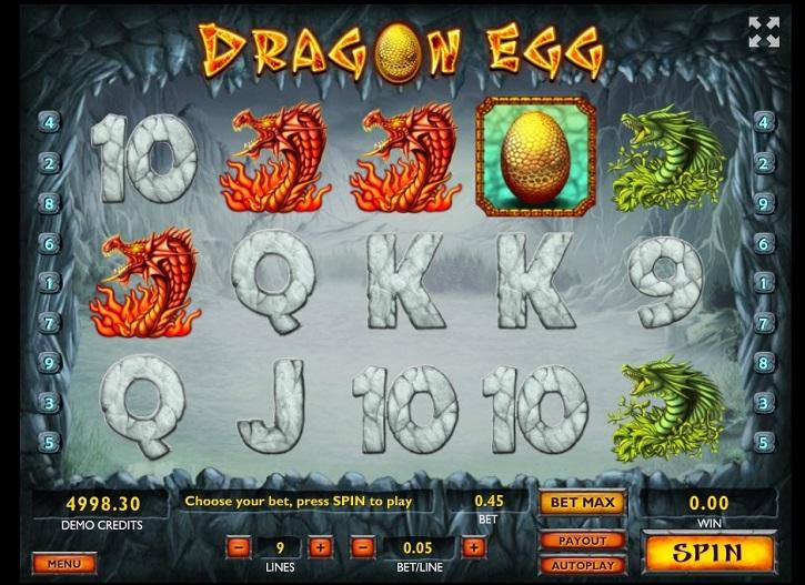 dragon egg slot review