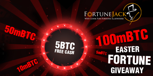 fortunejack casino easter fortune giveaway