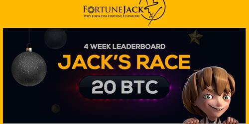 fortunejack jacks race leaderboard