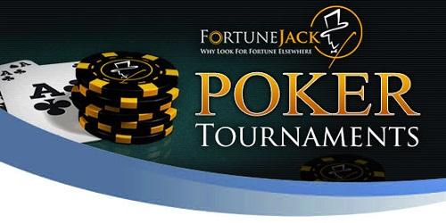 fortunejack poker tournaments