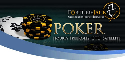 fortunejack poker freerolls