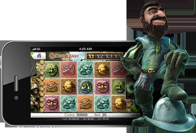 gonzos quest slot mobile