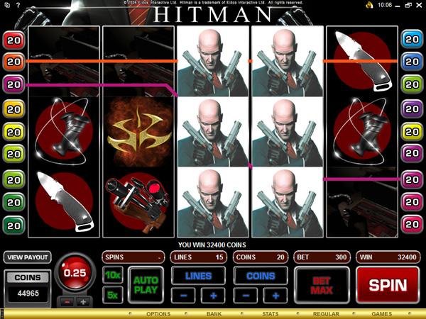 hitman slot review