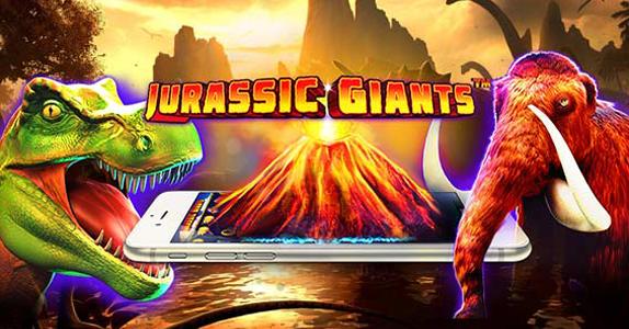 слот jurassic giants