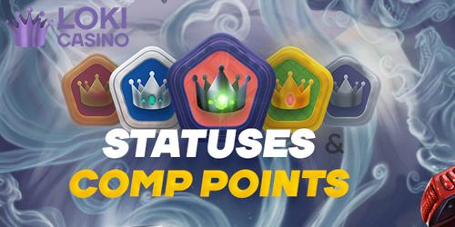 loki casino comp points