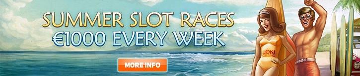 loki casino summer slot races