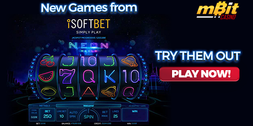 mbit casino isoftbet new games