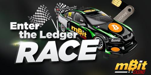 mbit casino ledger race