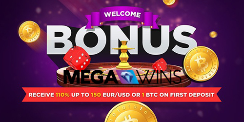 megawins casino welcome bonus