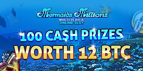 mermaid million slot promo