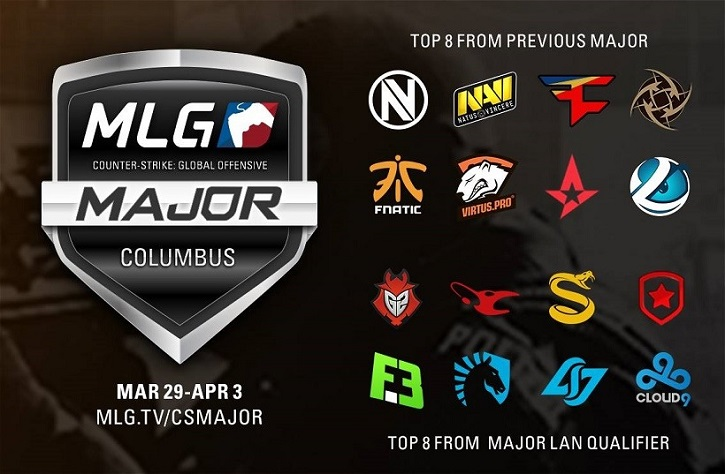 mlg columbus csgo teams