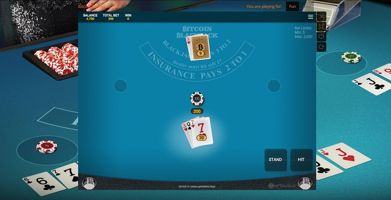 onetouch blackjack review