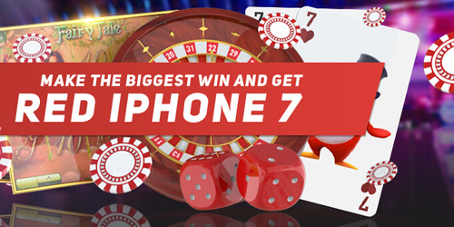redpingwin casino iphone race promo