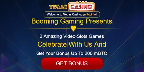 vegascasino new booming slots