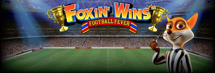 foxin wins football fever слот