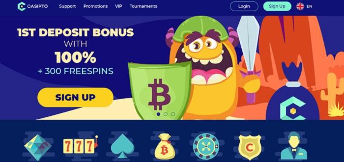 сайт casipto casino