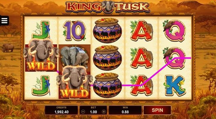 обзор слота king tusk