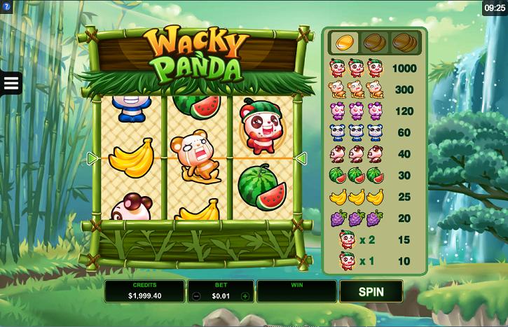 обзор слота Wacky Panda