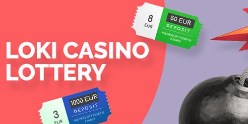 loki casino lottery