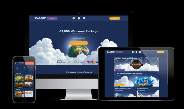 casoo casino website devices