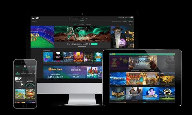 bet365 kasiino websites screens