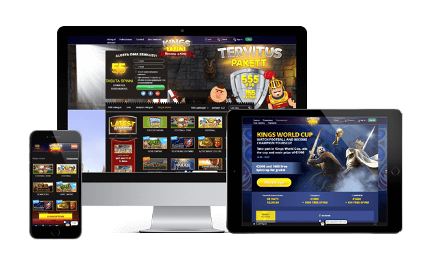 kingswin kasiino websites screens