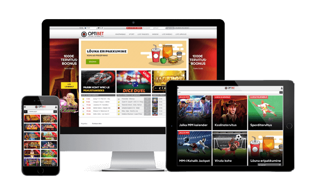 optibet kasiino websites screens