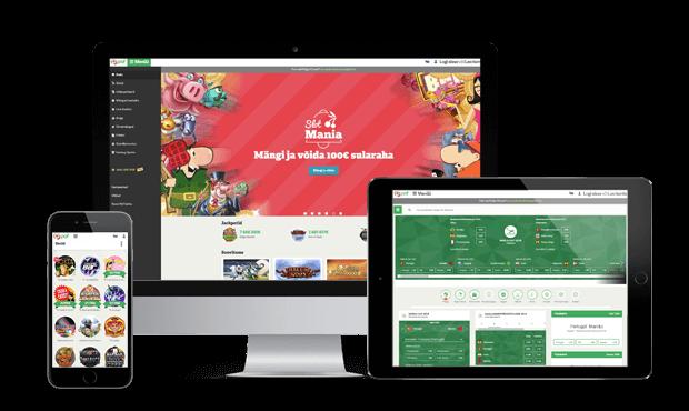 paf kasiino websites screens