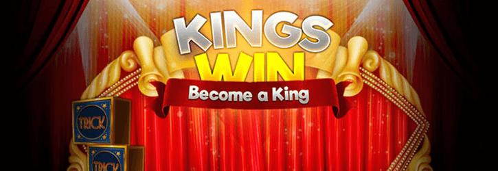 kingswin kasiino eksklusiivsed tasuta spinnid kampaania