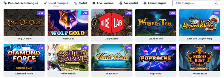 boost casino игры