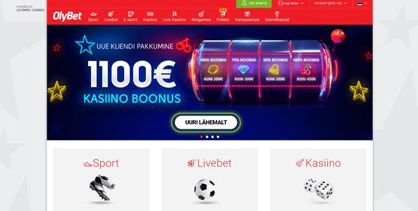 olybet kasiino eesti veebileht