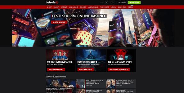 betsafe kasiino veebileht
