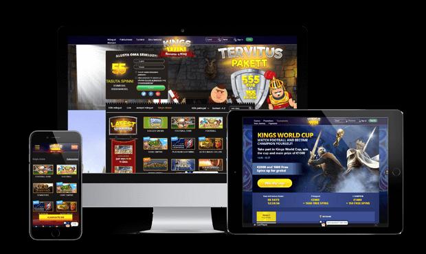 kingswin online kasiino ülevaade