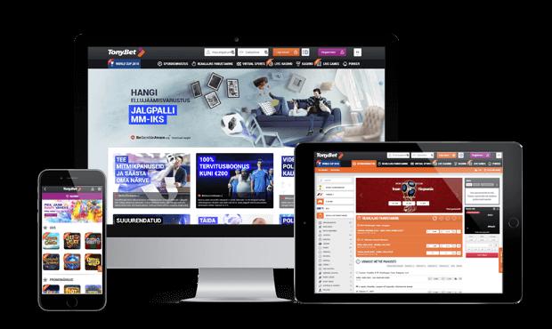 tonybet online kasiino ülevaade