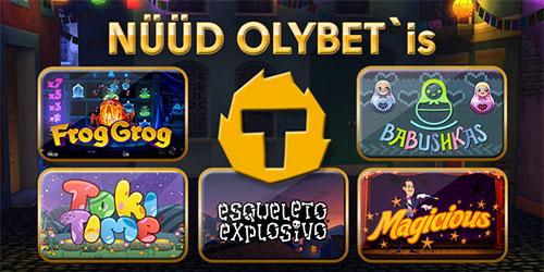 Thunderkick mängud nüüd Olybetis