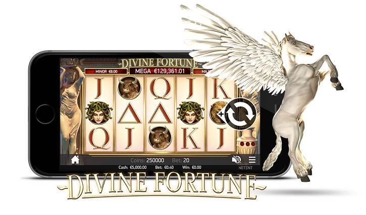 divine fortune slot mobile