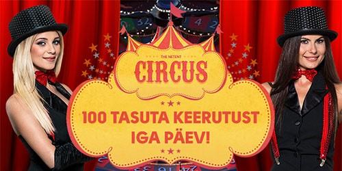 olybet circus rulett