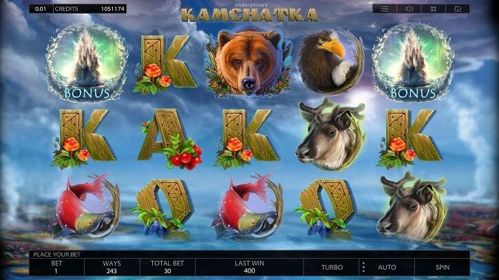 kamchatka slot screen