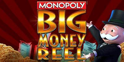 monopoly big money reel slot