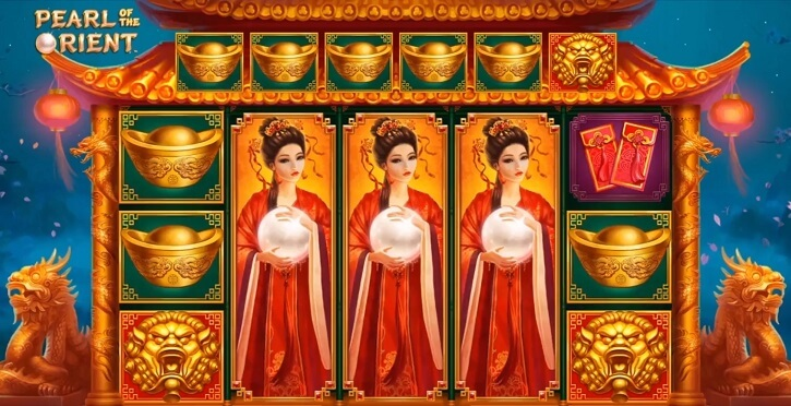 pearl of the orient slot screen