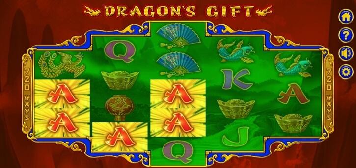 dragons gift slot bonus