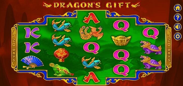 dragons gift slot review