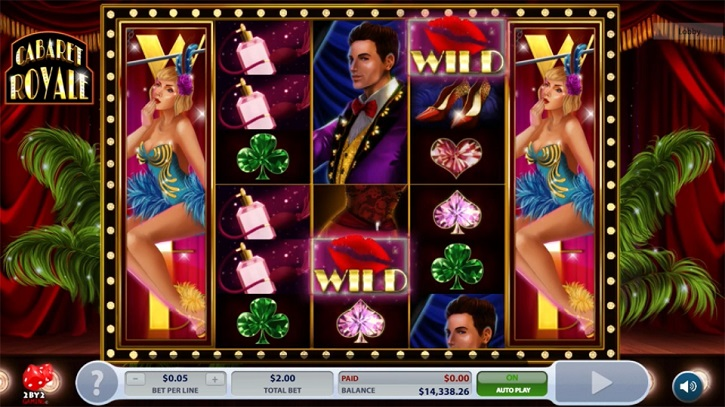 cabaret royale slot screen