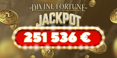 optibet kasiino divine fortune jackpot