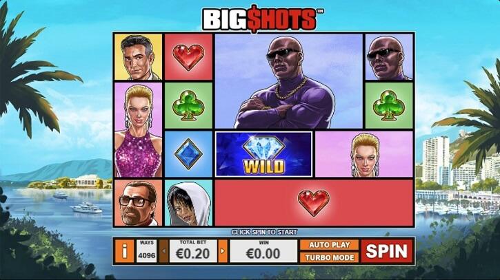 big shots slot freespins