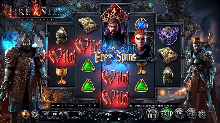fire and steel slot screen