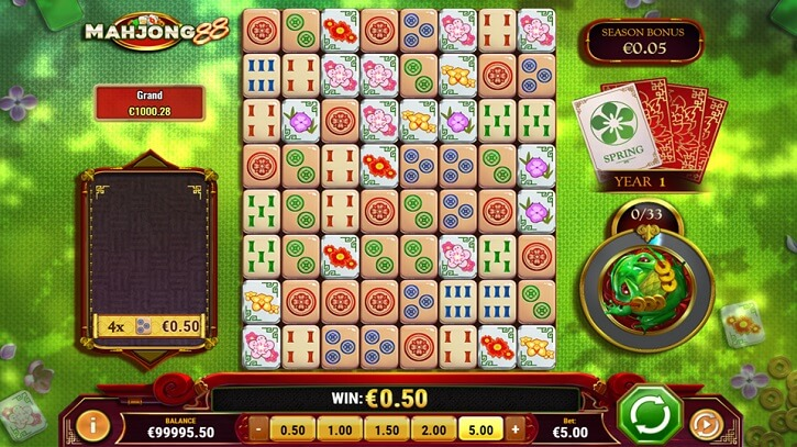mahjong 88 slot screen